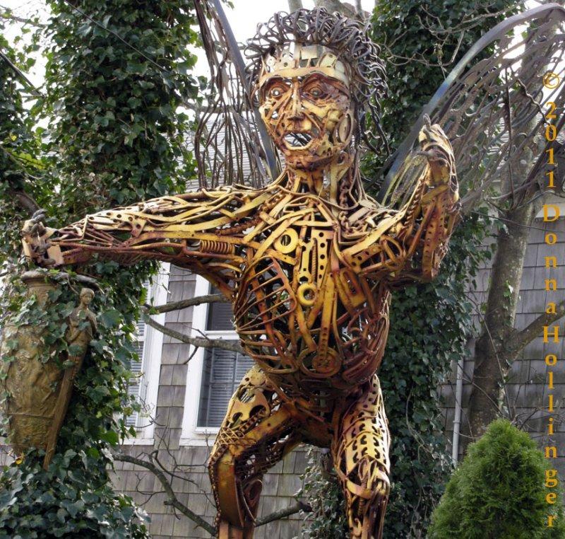 Metal Sculpture in Provincetown