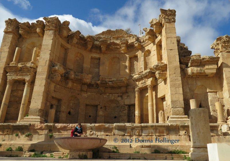 Roman Stage built in Jerassa