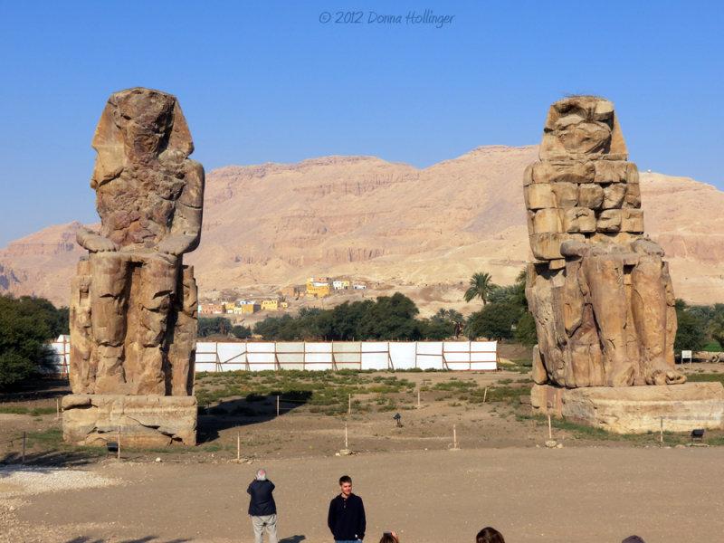 60 Foot Seated Statues Amenhotep III