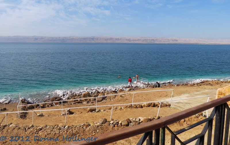 Dead Sea Vista (Israel is on the opposite side)