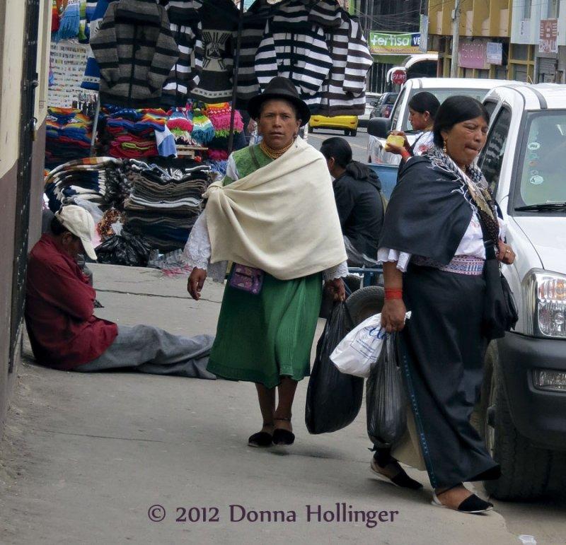 Street Scene in Otavalo