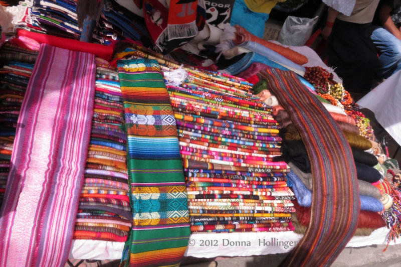Treasure Trove of Woven Fabrics in Ecuador