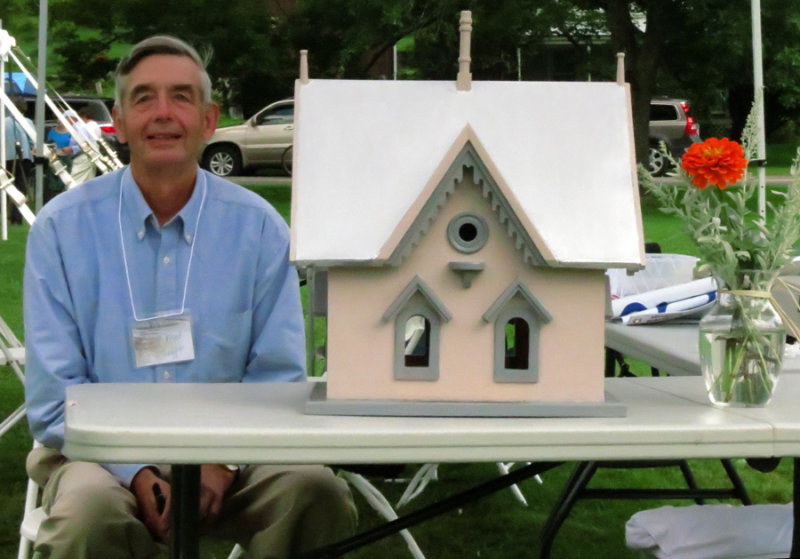 Mr. Tefft and Morrills Bird House