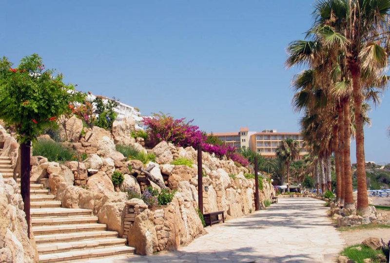 Coral.Beach Walkway