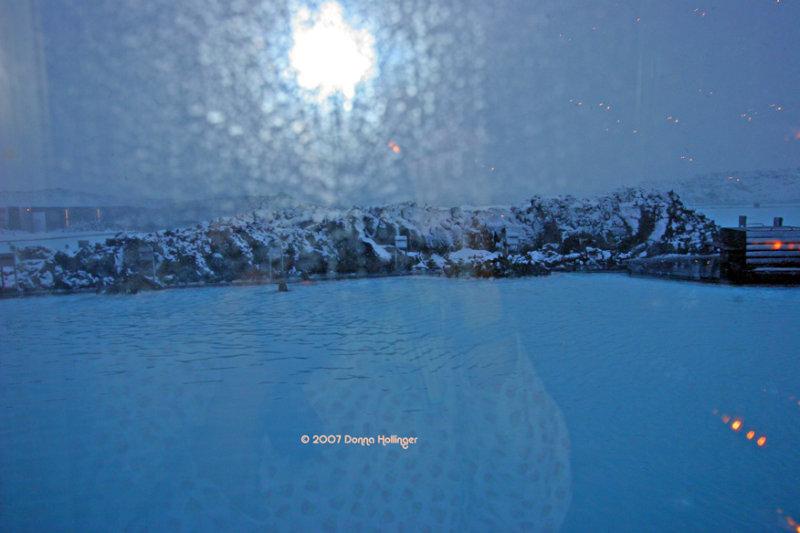 Christmas Eve at the Blue Lagoon