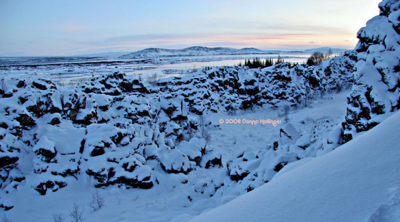 Lake Pingvallavatn View