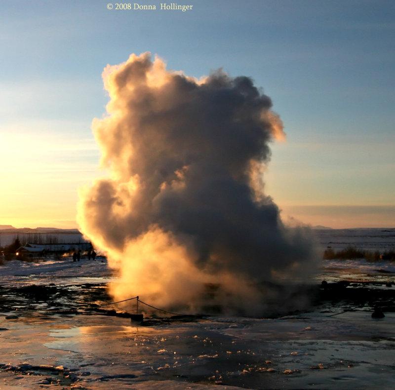 Strokkur Geysir: Blowing every three minutes