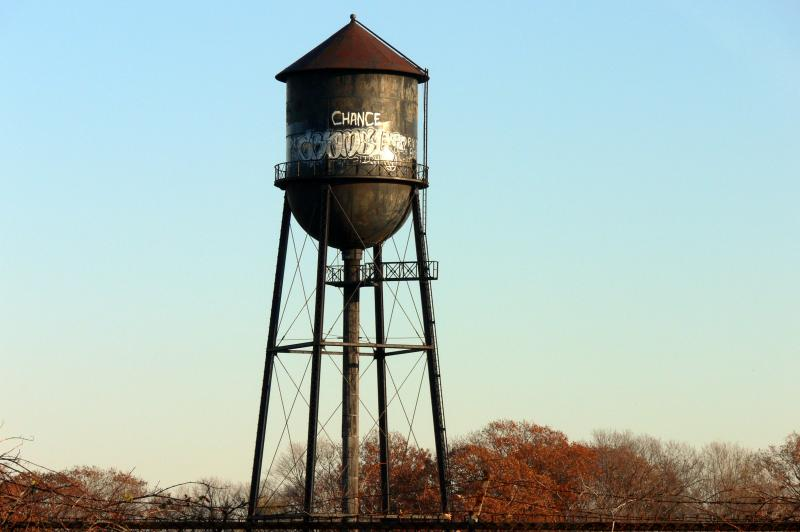 Old Water Tower.....