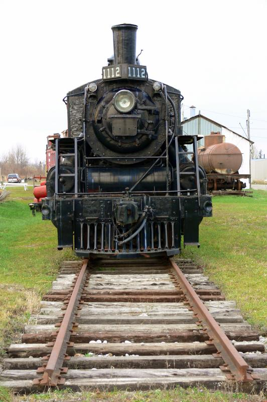 Canadian Northern 1112 at The Smiths Falls Rail Museum