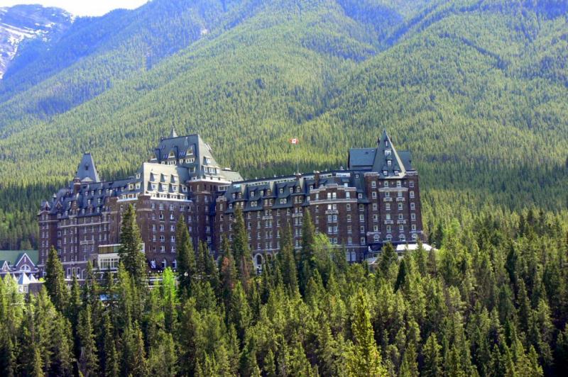 The Fairmont Springs Hotel, Banff Alberta