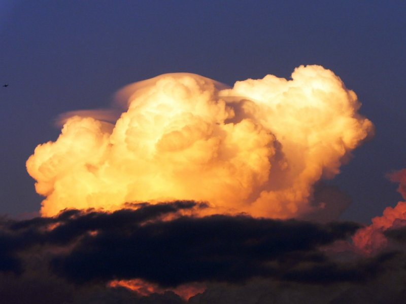 Evening Clouds....