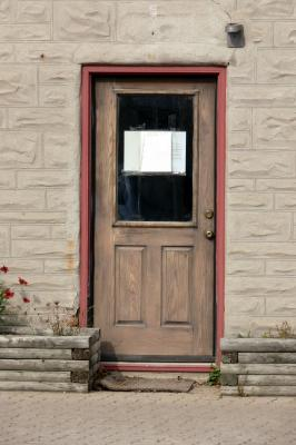 Unique and interesting doors I shot in Elora...