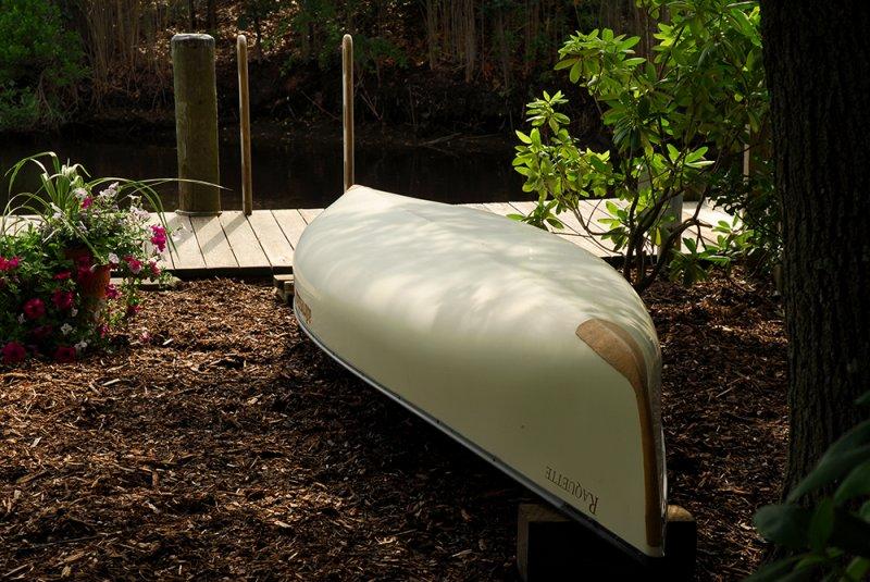 Canoe in the Shade