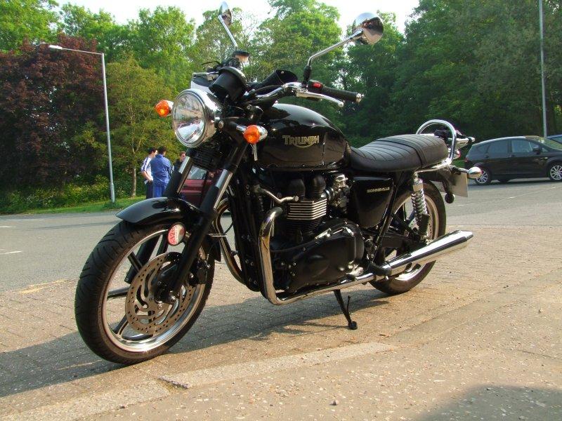 A Triumph  Bonneville  865cc
