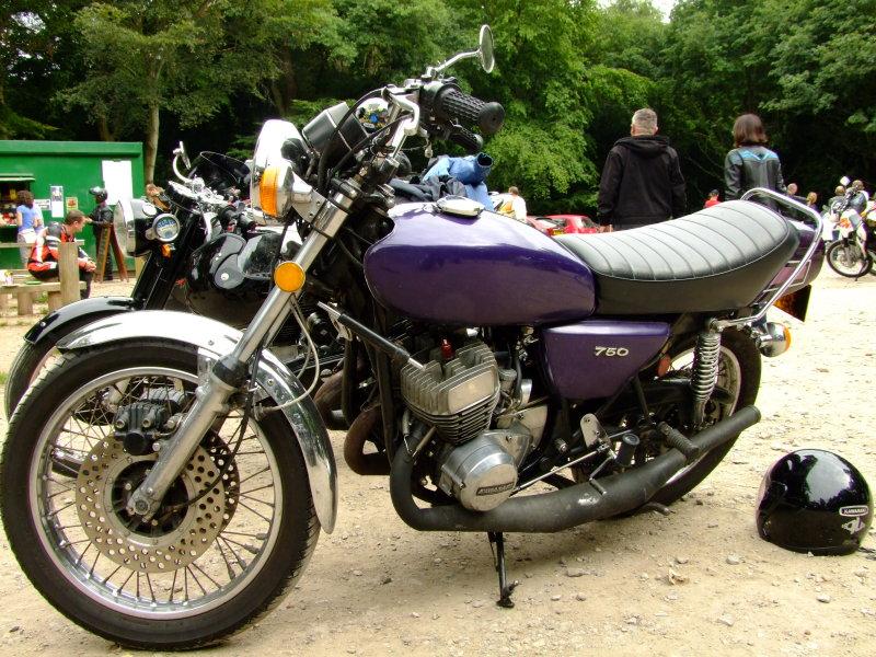 Kawasaki  H2 750cc triple 2-stroke