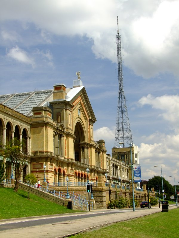 The  Alexandra  Palace  and  aerial.