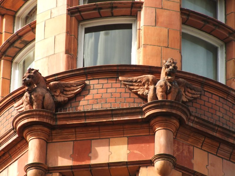 Guardians  of  the  building