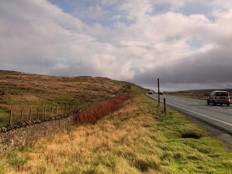 Roman  fortlet  on  the  Stainmore  Pass