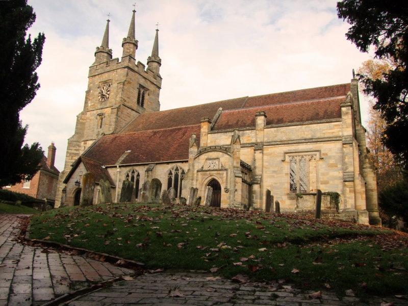 c 13th century, Grade B  Listed, Church of St. John the Baptist, C of E