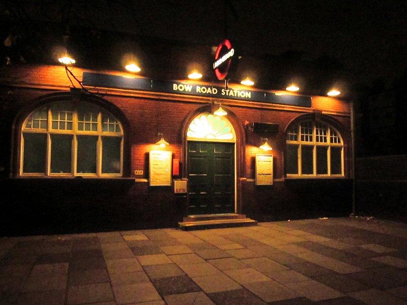 Bow  Road  Station  (Underground)