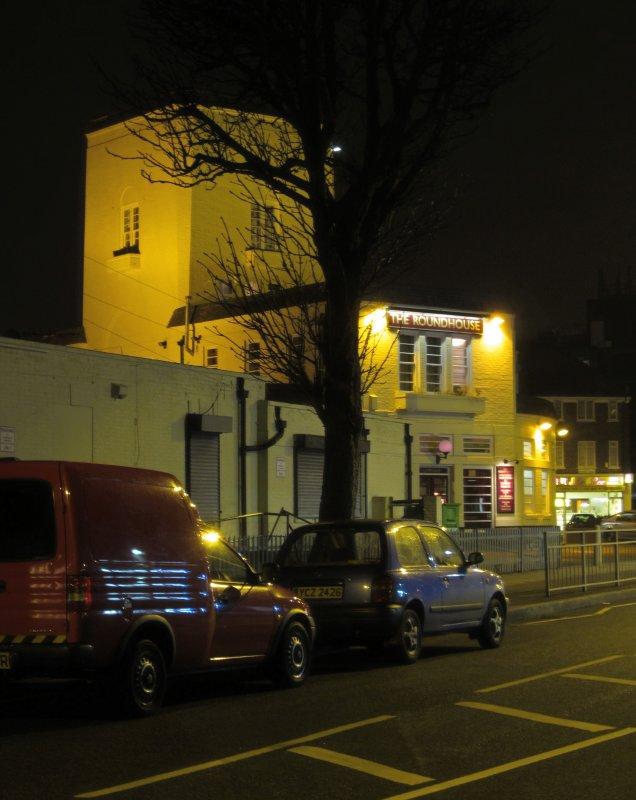 Dagenham  Roundhouse, side view.