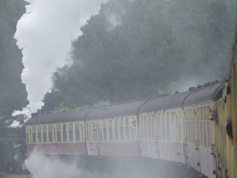 The joys of steam trains