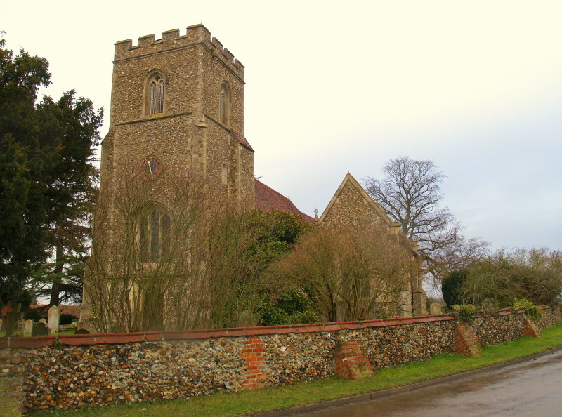 The Parish Church,Little Easton.