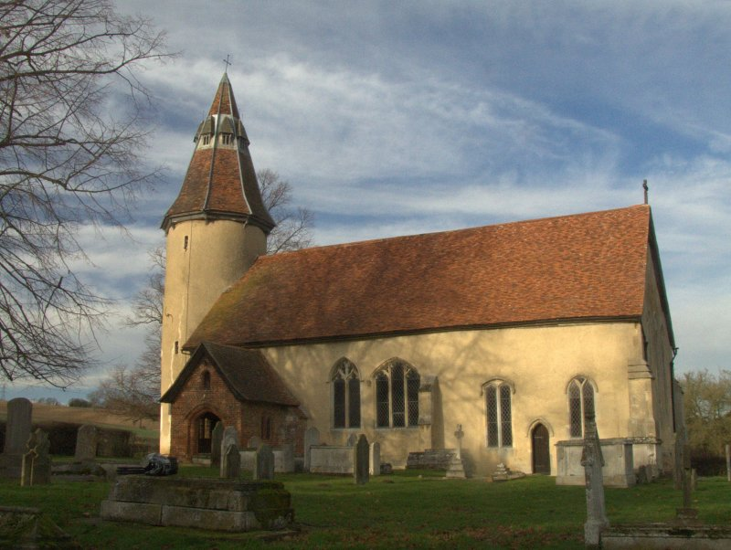 Grade I Listed  C12th Century  Church  of  the  Holy  Innocents,