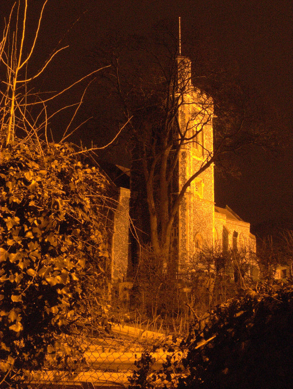 St.Johns church,tower and graveyard