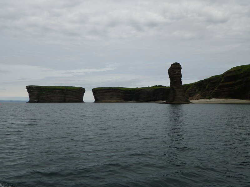 A view to The bell, of Bell Island