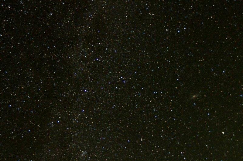 Cassiopeia & M31 (Andromeda Galaxy)