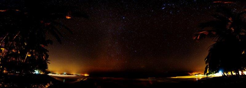Samara Beach at Night