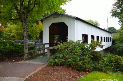 Centennial Covered Bridge in Cottage Grove