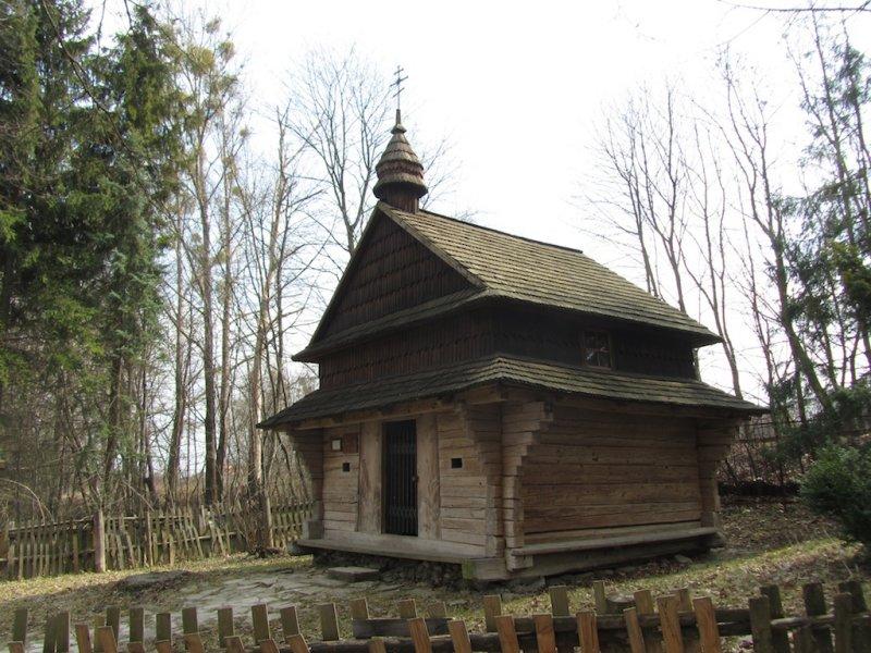 a tiny chapel...