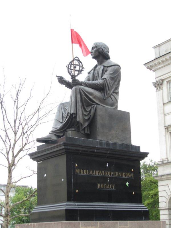 Copernicus, a light of Polish science...