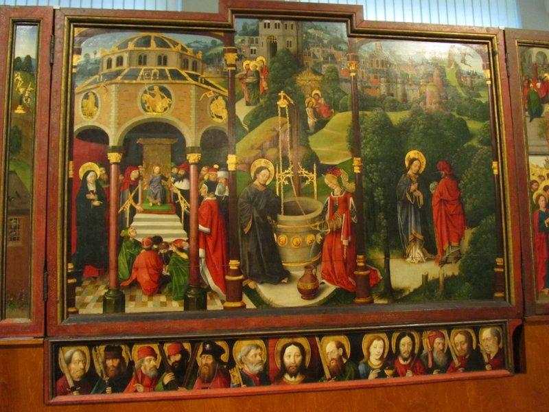 medieval Polish painting...