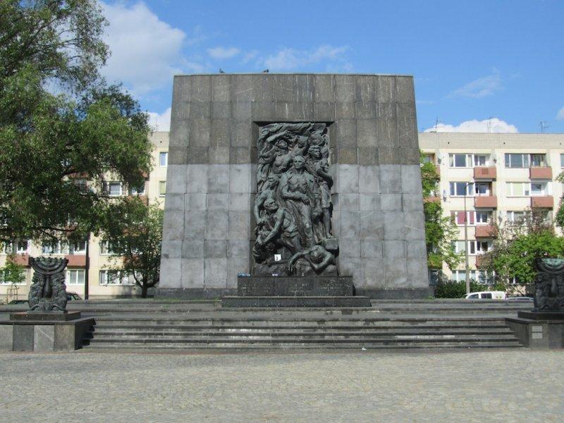 memorial to the Jewish ghetto