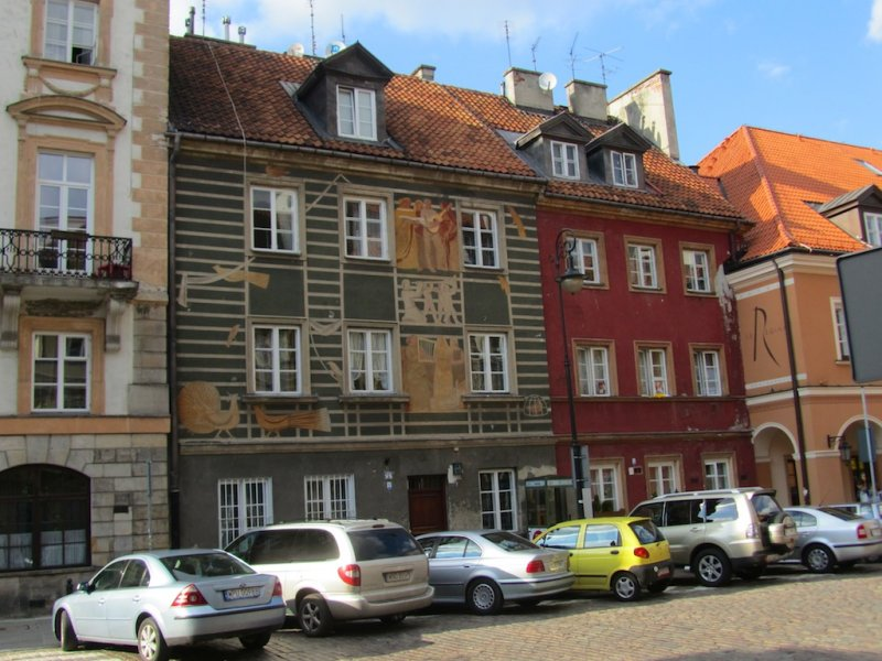 in the Nowe Miasto, the new town