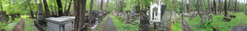 pano in the Jewish cemetery
