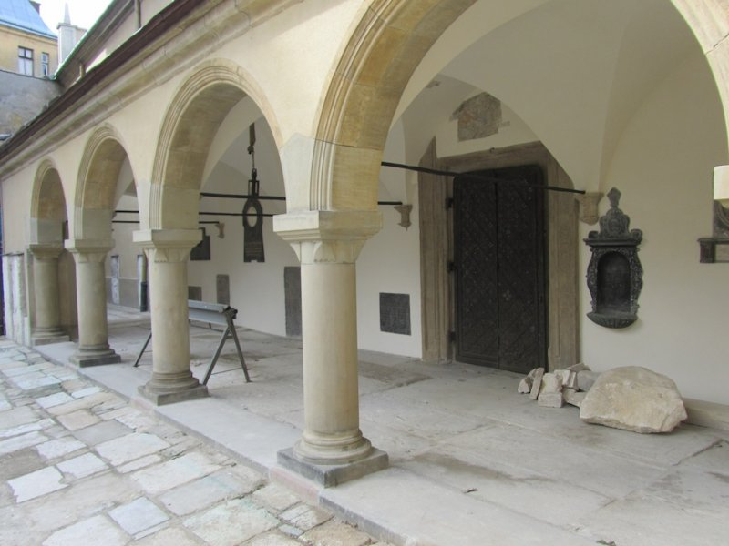 ...and is located in a quiet part of the old town of Lviv