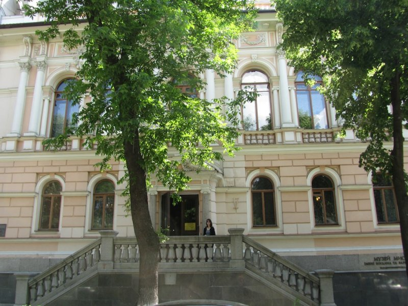 the Khanenko art museum, an amazing collection of European and Asian art