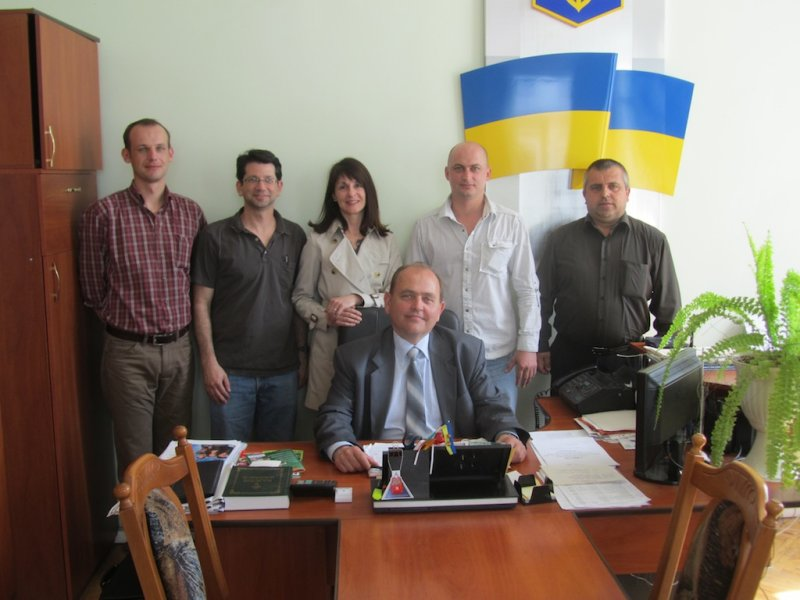 returning mid-May with Alex F., and meeting Rohatyns mayor