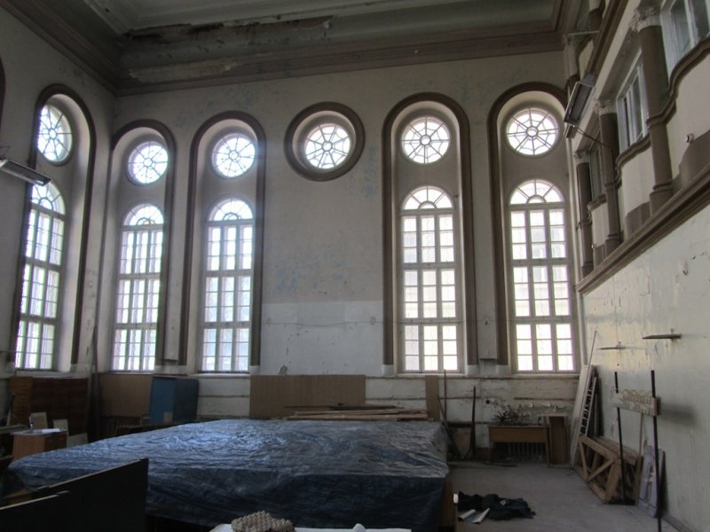 the space was a synagogue off and on, when permitted, before WWII