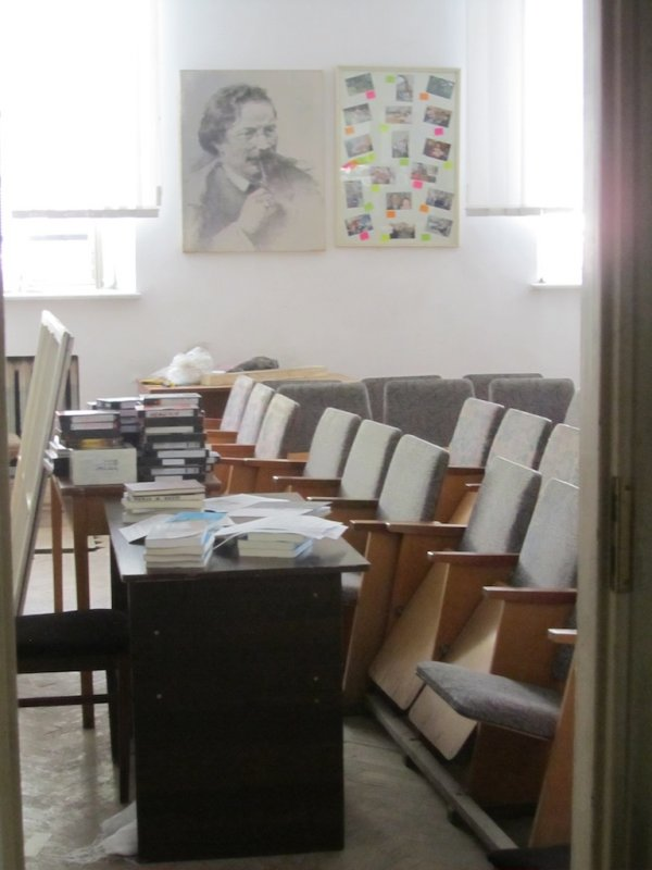 a reading and class room