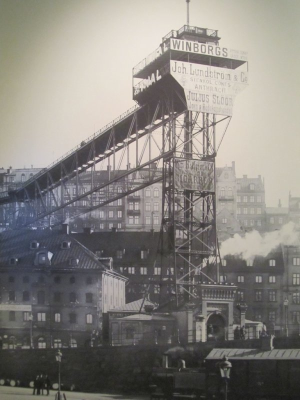 the Katarina elevator as it once appeared...