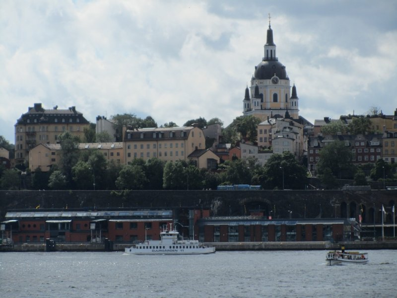 a view back toward Södermalm