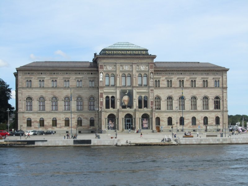 ...for a visit to the National Museum
