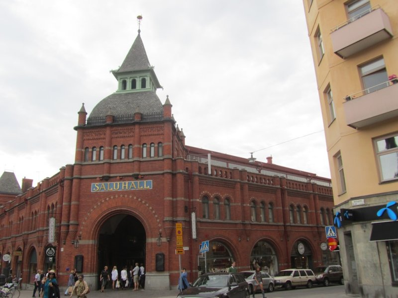 the historic saluhall or covered market