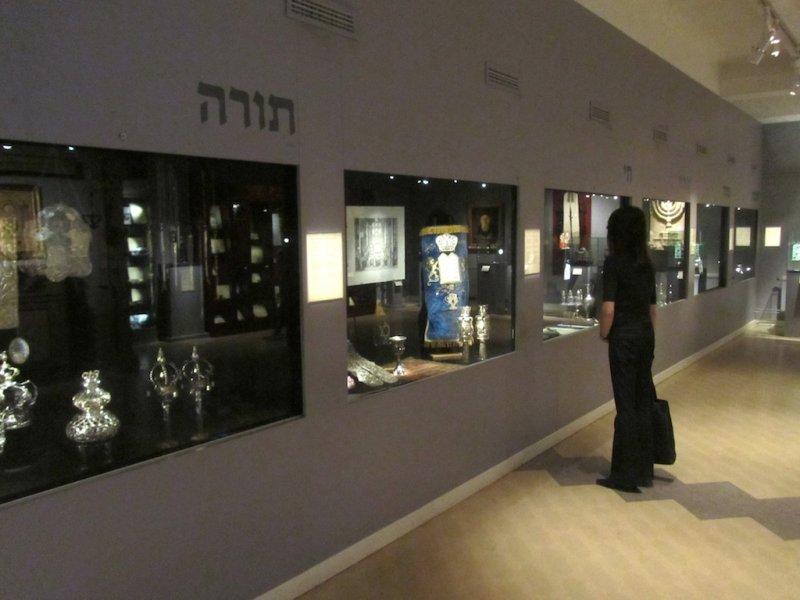 heres Stockholms Jewish museum...