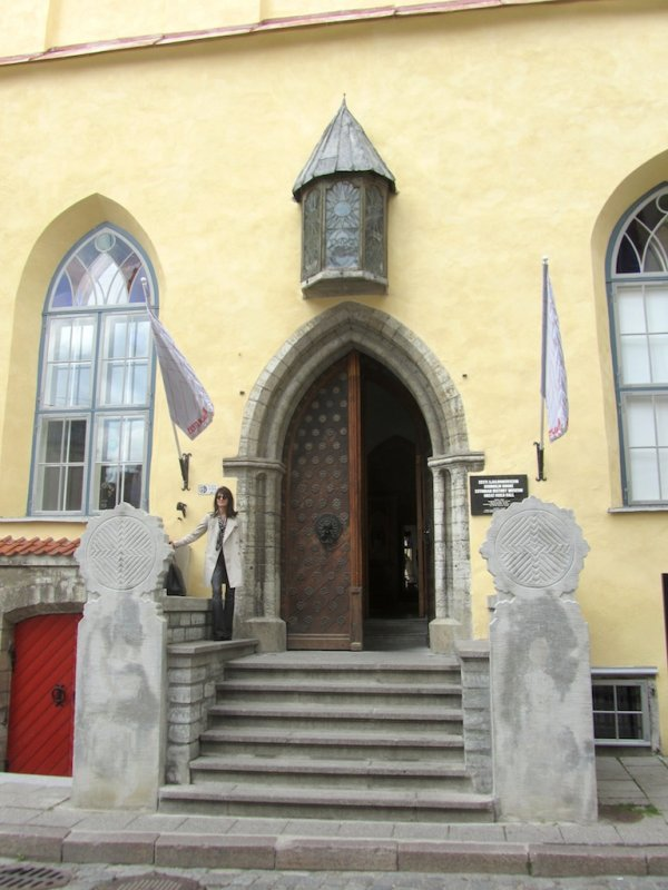 the Great Guild Hall, now the museum of Estonian history